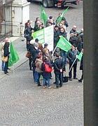 La foto fatta da Patrizia Moretti dalle finestre del suo ufficio (Facebook)
