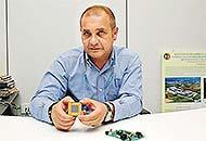 Andrea Squarcialupi, 48 anni, consigliere delegato e azionista di controllo della Chimet(Cirinei/Sestini)