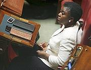 Cécile Kyenge (Pd) si insedia in Parlamento (Eidon/Antimiani)