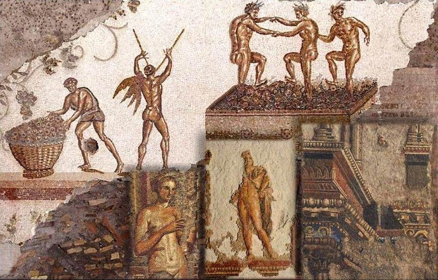 L'affresco di Colle Oppio