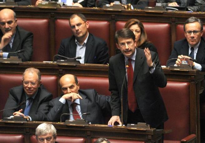 L'intervento di Franceschini, Pd (Liverani)