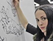 L'artista Molly Crabapple