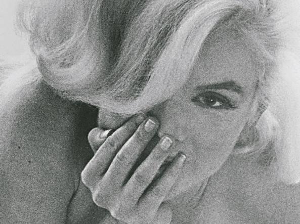 Marylin Monroe fotografata da Bert Stern nel 1962