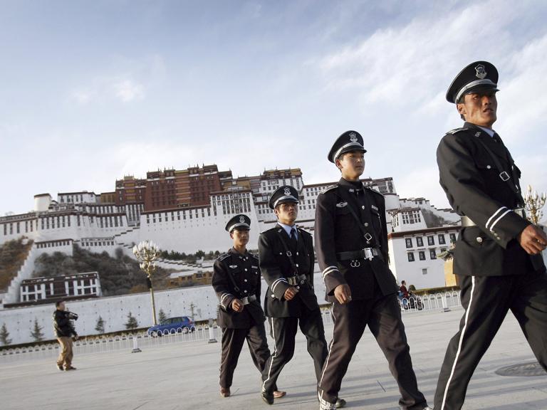 cina tibet guerra