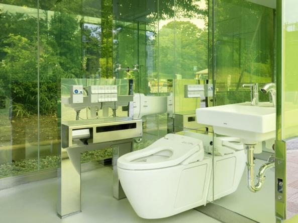 The interior (from tokyotoilet.jp)