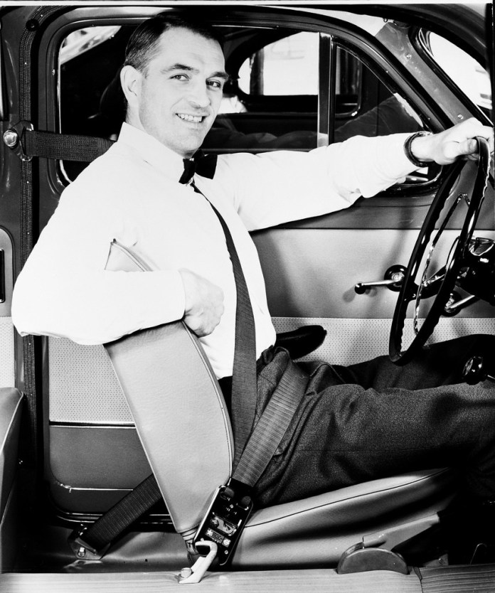The first safety belt: Volvo launched it in 1959