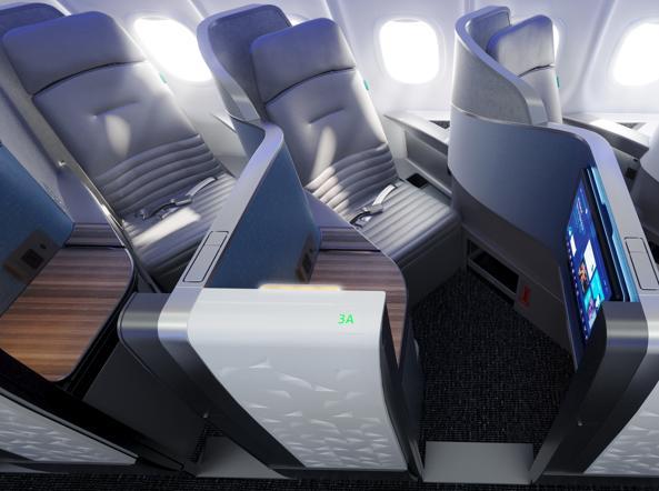 La nuova Business classe di JetBlue, la low cost americana (foto JetBlue)