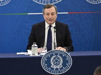 La conferenza stampa di Draghi, oggi