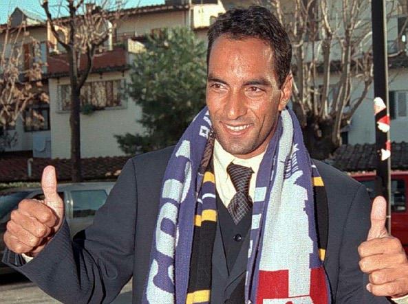1998, Edmundo è alla Fiorentina (Ansa)