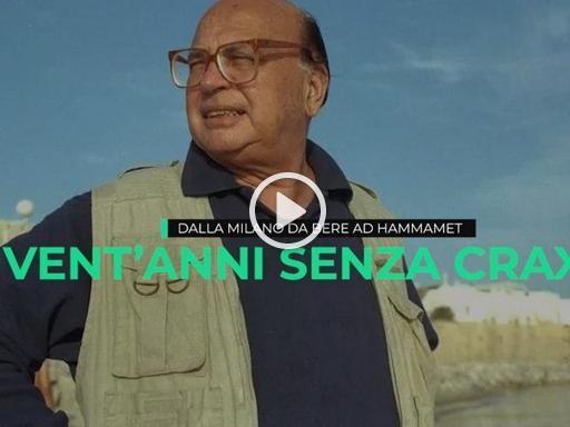 Craxi, dalla Milano da bere ad Hammamet: l