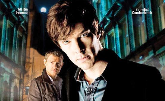 Sherlock e Watson na série da BBC.