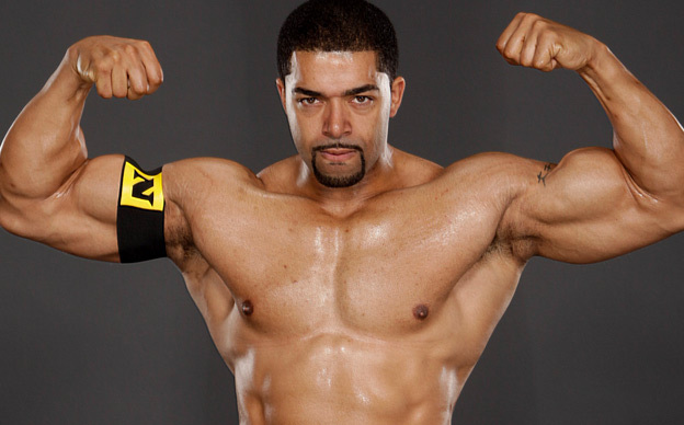 David Otunga, a WWF wrestler with Kenyan roots. David is married to Jennifer Hudson a former American Idol contestant.