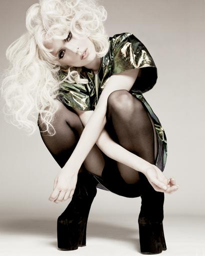Lady Gaga in Elle