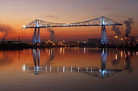 Transporter Bridge Middlesbrough England - great-britain Photo