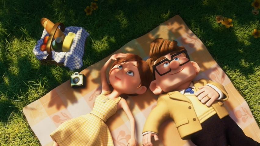 most romantic picnic ever disney pixar up