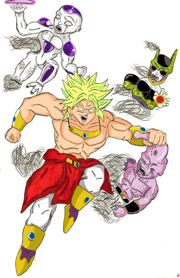 Is Broly The Most Intimidating Character Poll Results