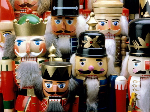 Nutcrackers - christmas Wallpaper