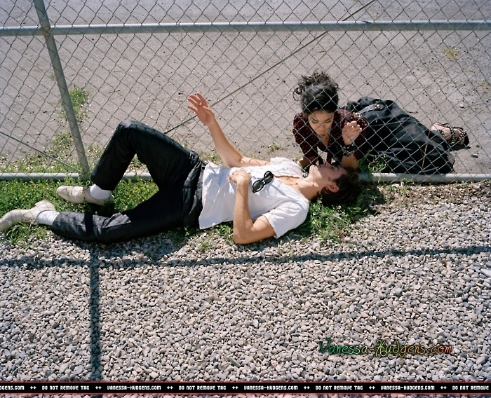Zac Efron And Vanessa Hudgens Photo Shoot. Two Disney Celebrity couples have