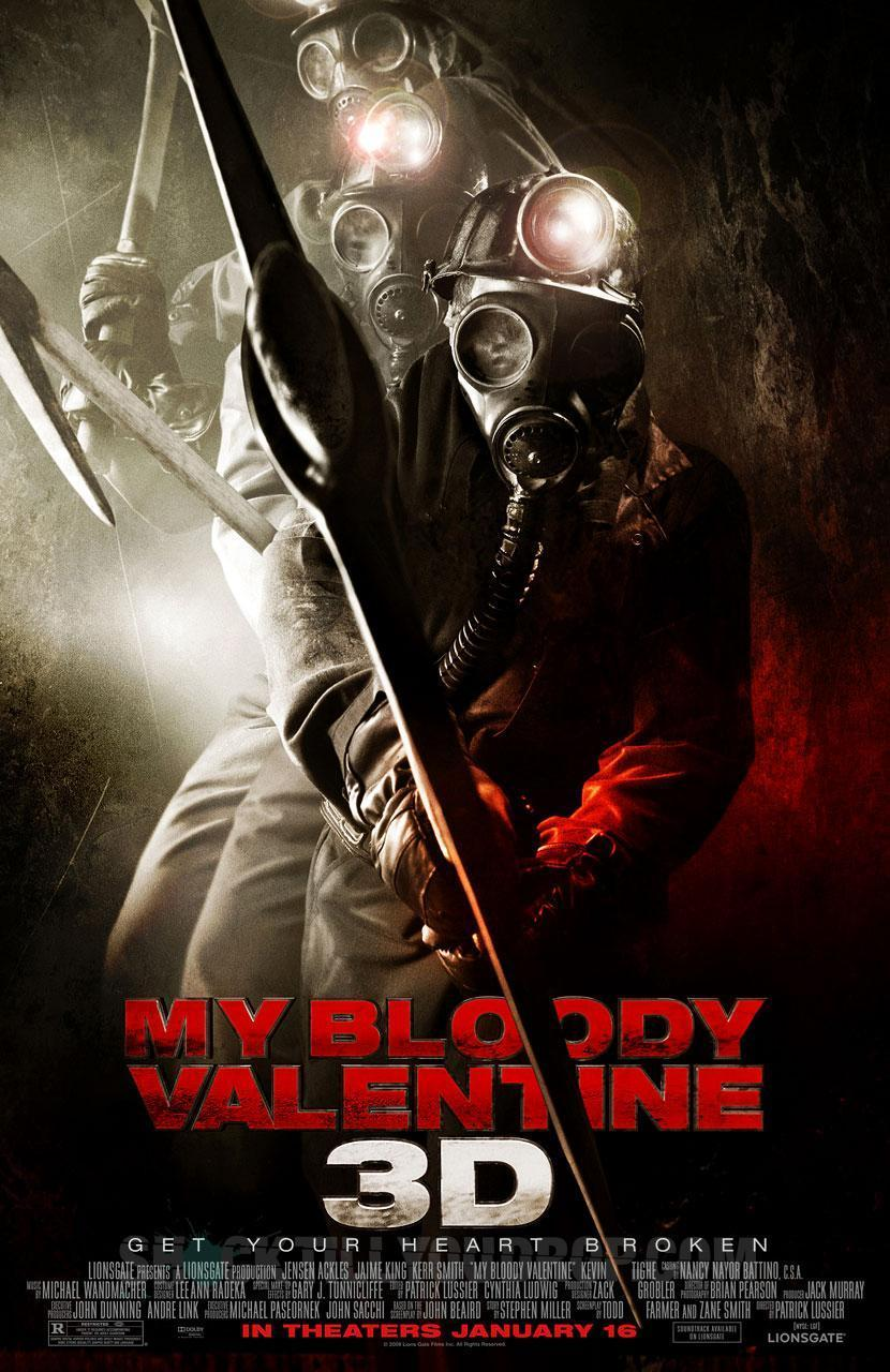 Horror Movies Images My Bloody Valentine 3D Poster HD