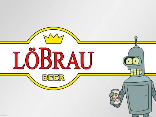 Löbrau Beer - Futurama