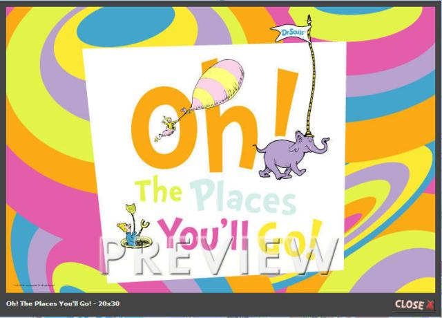 oh the places you ll go daydreamer
