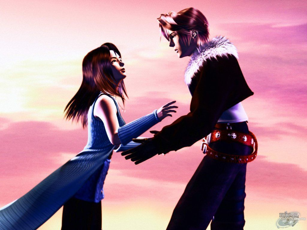 Image result for squall rinoa