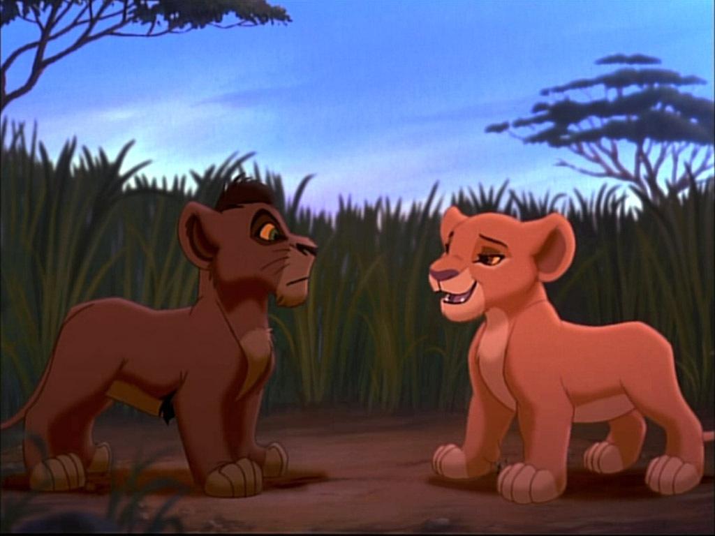 kiara amp kovu the lion king 2 simba s pride photo 4220662 fanpop