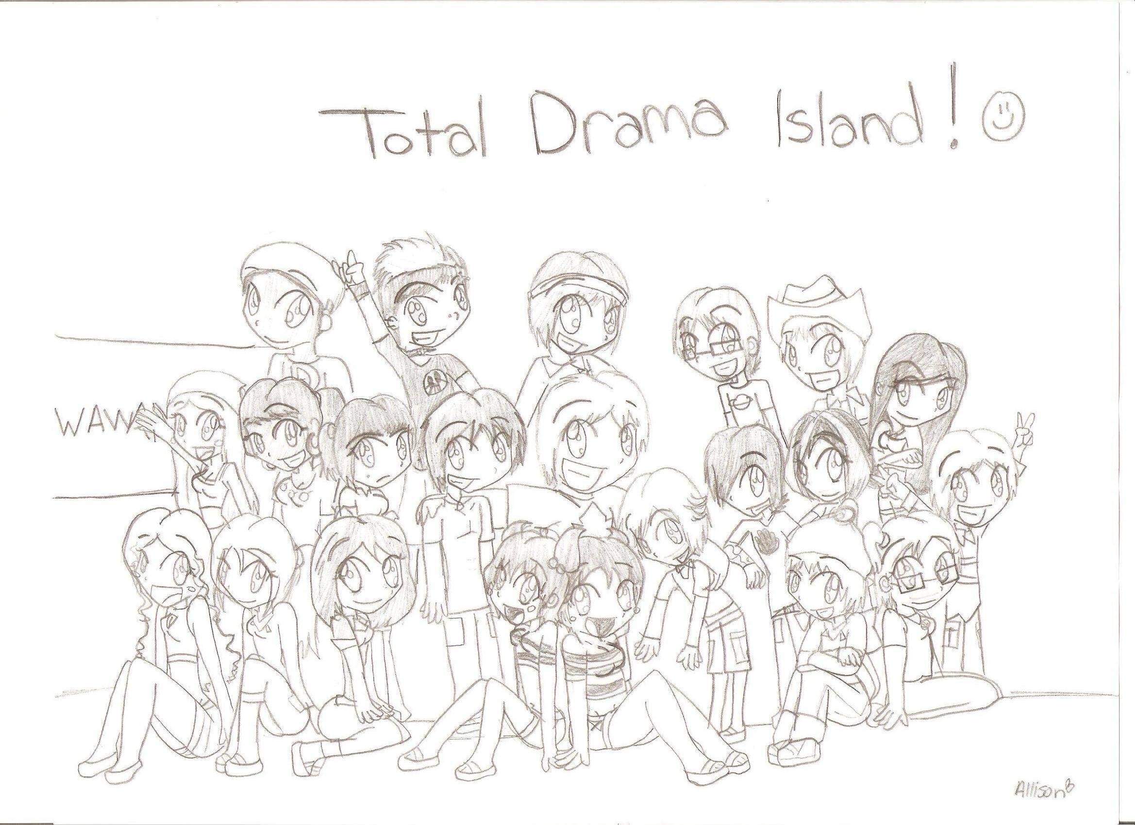 Total Drama Island Group
