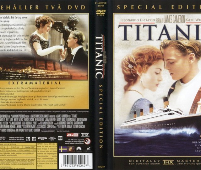 Titanic Images Titanic Dvd Covers Hd Wallpaper And Background Photos
