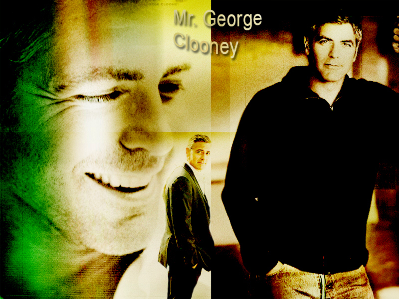 sexy older man - george-clooney wallpaper