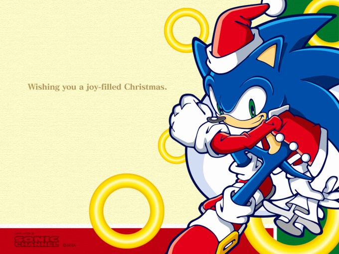sonic christmas images x mas hd wallpaper and background