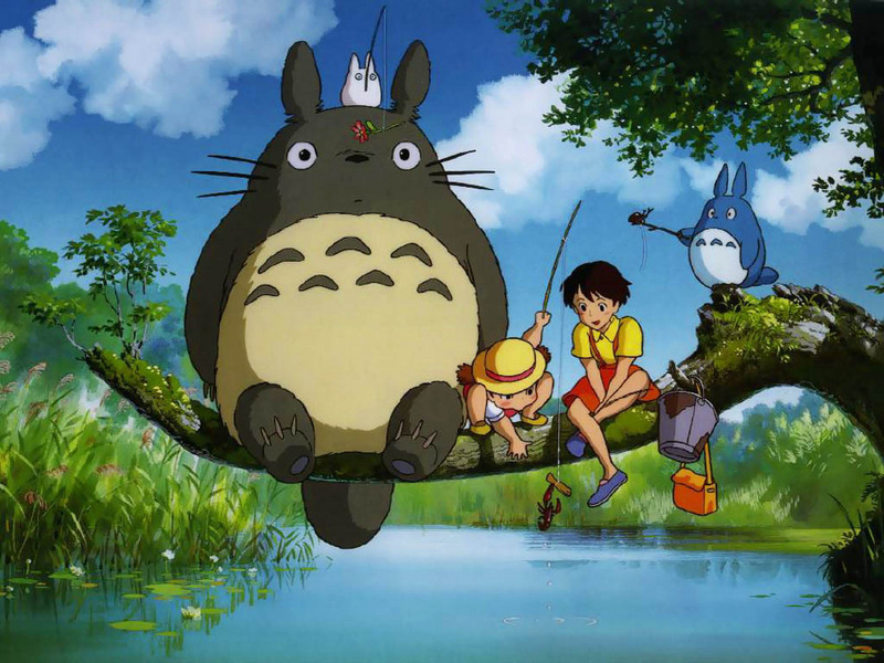 Totoro my neighbour by Studio Ghibli