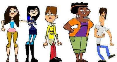 Total Drama Island images Some TDI characters as the ...