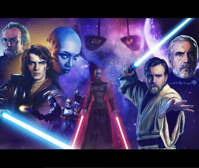 Star Wars Clone Wars Images Clone Wars Painting Hd Wallpaper And Background Photos