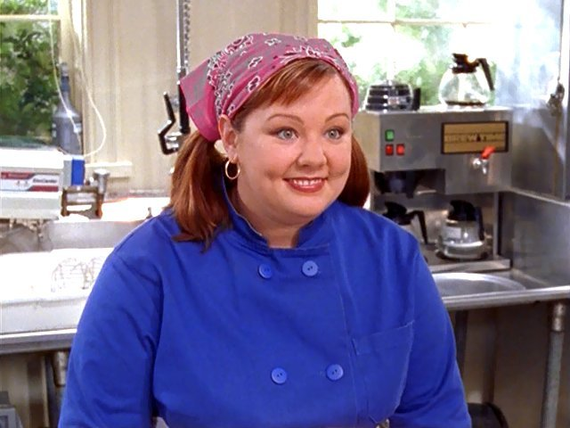 McCarthy as the adorable Sookie in Gilmore Girls.