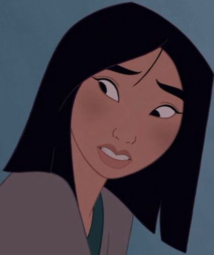 Image result for MULAN SHORT HAIR