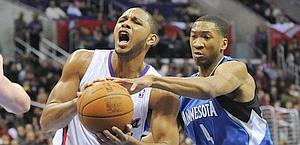 Eric Gordon contro Wesley Johnson. Ap