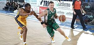 Rimantas Kaukebas, top scorer per Siena. Ciam/Cast