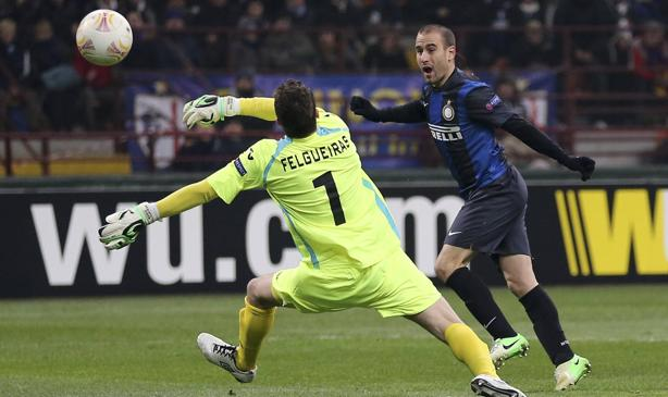 Il primo gol di Palacio