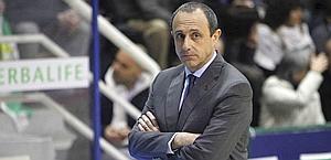 Ettore Messina ex tecnico di Cska Mosca e Real Madrid. LaPresse