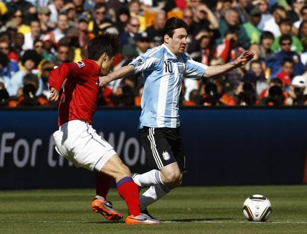 L'imprendibile Messi: in lui spera l'Argentina. (GazSport)