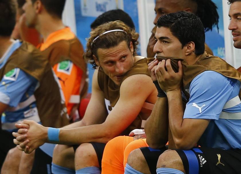 La panchina uruguagia sotto choc