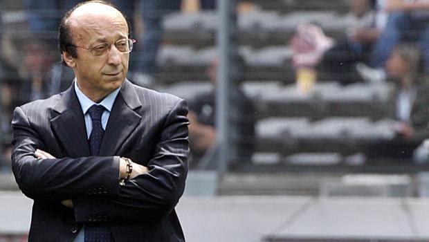 L'ex d.g. della Juventus, Luciano Moggi. Ansa