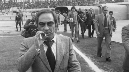 Bruno Pesaola, ex allenatore, tra le altre, di Napoli e Fiorentina