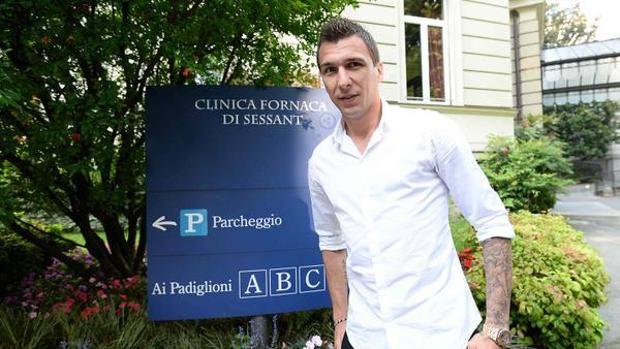 Mario Mandžukić , 29 anni, pronto per le visite mediche. Juventus.com