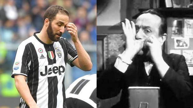 Napoli Juve Pernacchio Sincronizzato A Higuain