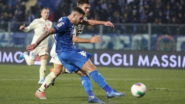 Empoli, Tutino gol e rissa. E il Chievo fa 1-1 con Meggiorini