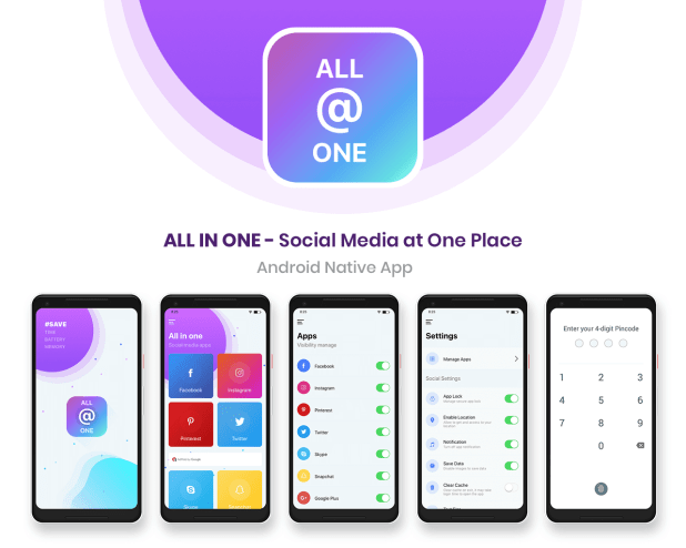 All in one android native app script download