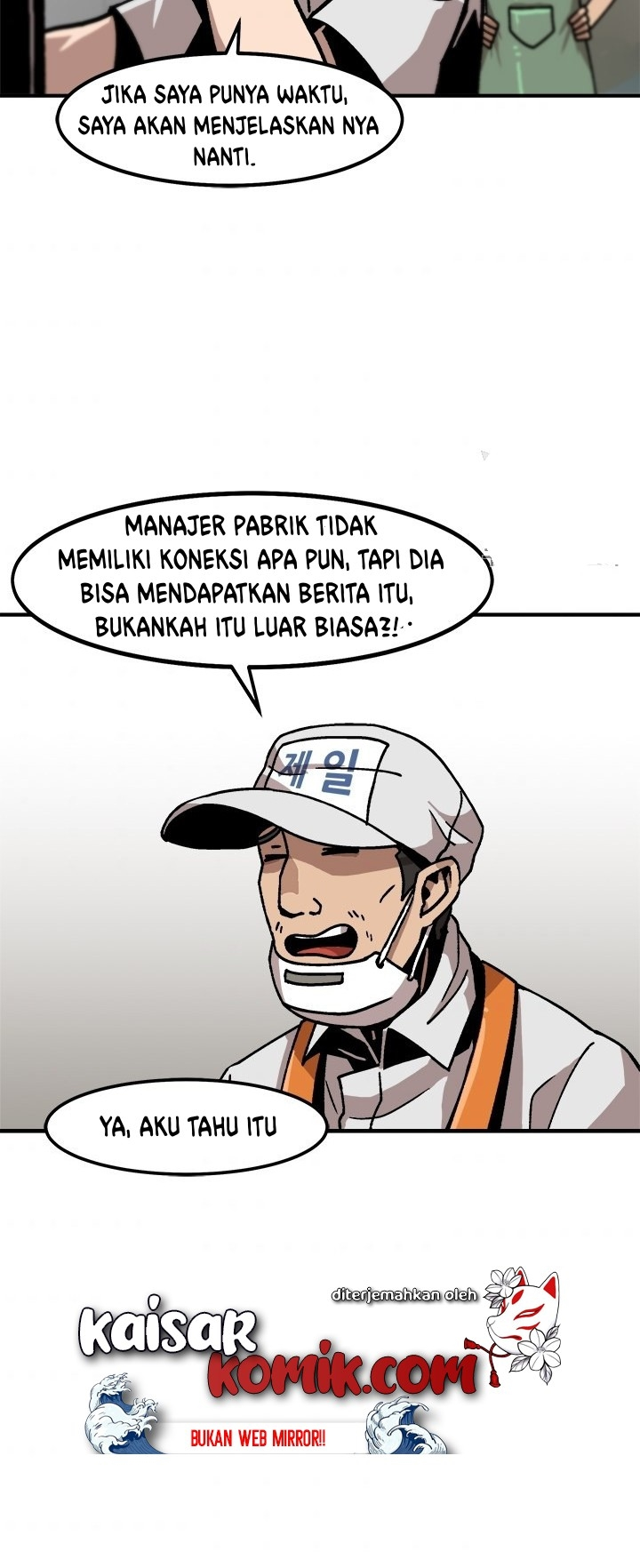 Bring my level up alone Chapter 05 Bahasa Indonesia