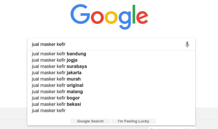 Kata kunci buying keyword